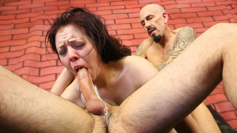 New latina throats mae white throat fucked and degraded 2